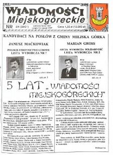 Wiadomości Miejskogóreckie 1997 nr 3/4 (30/31)