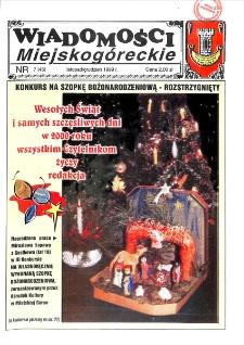 Wiadomości Miejskogóreckie 1999 nr 7 (45)