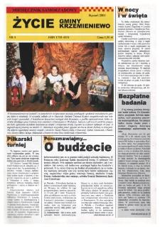 Życie Gminy Krzemieniewo 2005.01 Nr 5