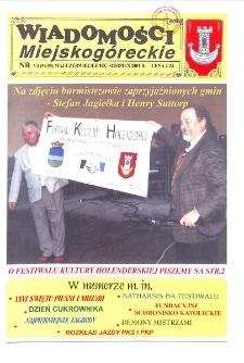 Wiadomości Miejskogóreckie 2001 nr 3/4 (54/55)