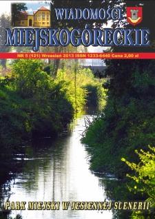 Wiadomości Miejskogóreckie 2013 nr 5 (121)