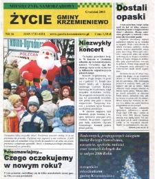 Życie Gminy Krzemieniewo 2005.12 Nr 16