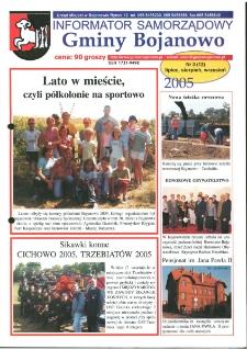 Informator Samorządowy Gminy Bojanowo 2005.07 Nr 3 (12)
