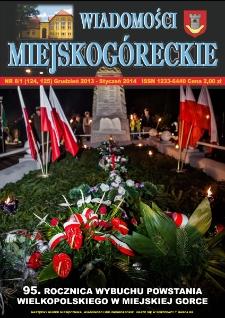 Wiadomości Miejskogóreckie 2013/2014 nr 8/1 (124/125)
