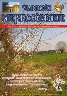 Wiadomości Miejskogóreckie 2014 nr 3 (127)