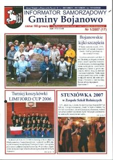 Informator Samorządowy Gminy Bojanowo 2007.01 Nr 1 (17)