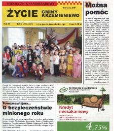Życie Gminy Krzemieniewo 2007.01 Nr 29