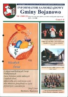 Informator Samorządowy Gminy Bojanowo 2009.01 Nr 1 (25)