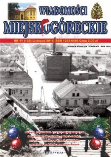 Wiadomości Miejskogóreckie 2014 nr 11 (135)