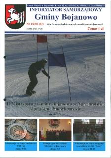 Informator Samorządowy Gminy Bojanowo 2011.01 Nr 1 (33)