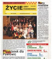 Życie Gminy Krzemieniewo 2008.04 Nr 44