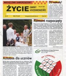 Życie Gminy Krzemieniewo 2008.08 Nr 48