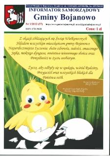 Informator Samorządowy Gminy Bojanowo 2012.01 Nr 1 (37)
