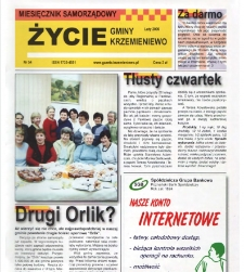 Życie Gminy Krzemieniewo 2009.02 Nr 54