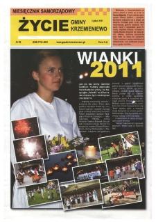 Życie Gminy Krzemieniewo 2011.07 Nr 83