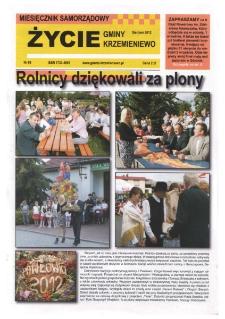Życie Gminy Krzemieniewo 2012.08 Nr 96