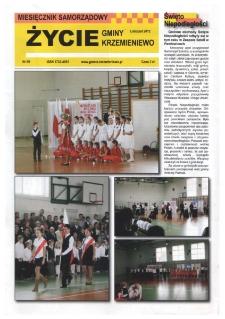 Życie Gminy Krzemieniewo 2012.11 Nr 99