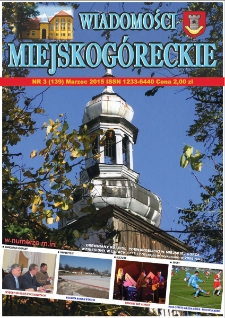 Wiadomości Miejskogóreckie 2015 nr 3 (139)