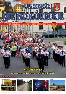 Wiadomości Miejskogóreckie 2015 nr 6 (142)