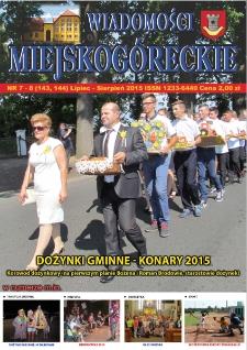 Wiadomości Miejskogóreckie 2015 nr 7/8 (143/144)