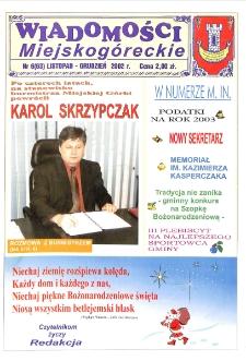 Wiadomości Miejskogóreckie 2002 nr 6 (63)