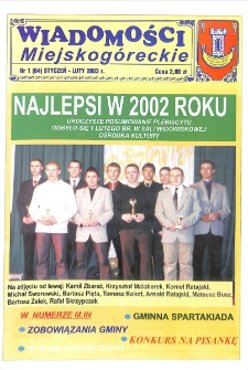 Wiadomości Miejskogóreckie 2003 nr 1 (64)