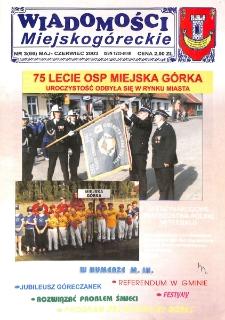 Wiadomości Miejskogóreckie 2003 nr 3 (66)
