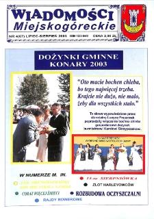 Wiadomości Miejskogóreckie 2003 nr 4 (67)