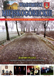 Wiadomości Miejskogóreckie 2016 nr 10 (158)