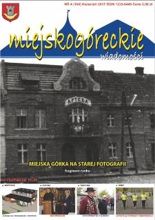 Wiadomości Miejskogóreckie 2017 nr 4 (164)