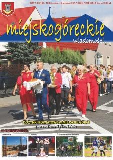 Wiadomości Miejskogóreckie 2017 nr 7/8 (167/168)
