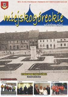 Wiadomości Miejskogóreckie 2017 nr 9/10 (169/170)