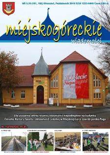 Wiadomości Miejskogóreckie 2018 nr 9/10 (181/182)