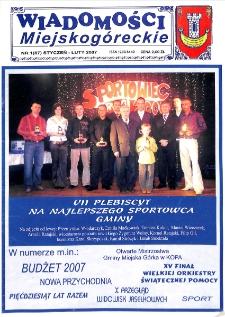 Wiadomości Miejskogóreckie 2007 nr 1 (87)