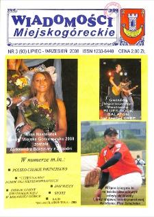 Wiadomości Miejskogóreckie 2008 nr 3 (93)