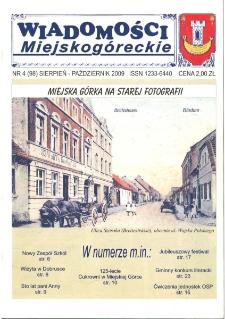 Wiadomości Miejskogóreckie 2009 nr 4 (98)