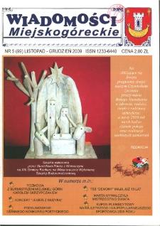 Wiadomości Miejskogóreckie 2009 nr 5 (99)