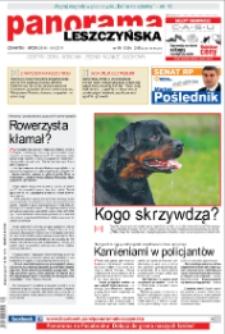 Panorama Leszczyńska 2011.09.29 R.33 Nr39(1650)