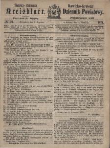 Rawicko-Krobski Dziennik Powiatowy. 1871.12.02 R. 21 Nr 96