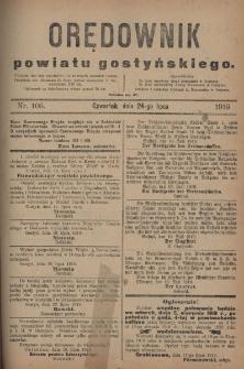 Orędownik Powiatu Gostyńskiego 1919.07.24 R.1 Nr 105