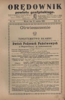 Orędownik Powiatu Gostyńskiego 1920.04.27 R.2 Nr 49