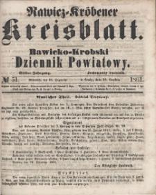 Rawicko-Krobski Dziennik Powiatowy. 1861.12.18 R. 11 Nr 51