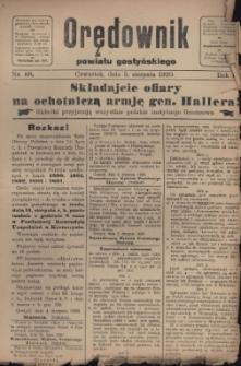 Orędownik Powiatu Gostyńskiego 1920.08.05 R.2 Nr 88