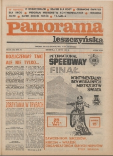 Panorama Leszczyńska 1982.07.25 R.4 Nr26(131)