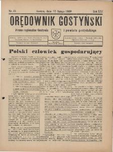 Orędownik Gostyński 1939.02.25 R.21 Nr 15