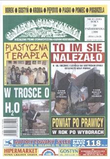 Gazeta Gostyńska 1999 R.10 Nr 21(230)