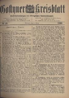 Gostyner Kreisblatt 1900.03.07 Nr 19