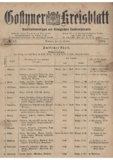 Gostyner Kreisblatt 1894.10.31 Nr 87
