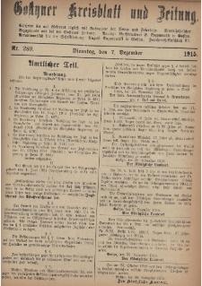 Gostyner Kreisblatt und Zeitung 1915.12.07 Nr 289