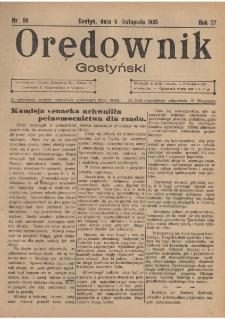 Orędownik Gostyński 1935.11.06 R.17 Nr 89